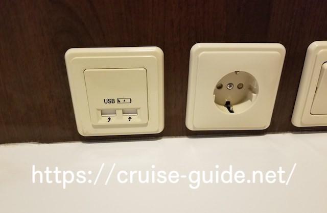 USB充電 クルーズ