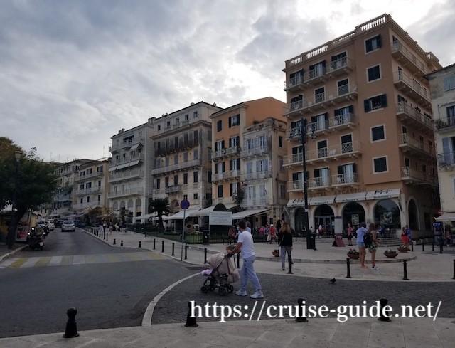 コルフ旧市街 ギリシャ