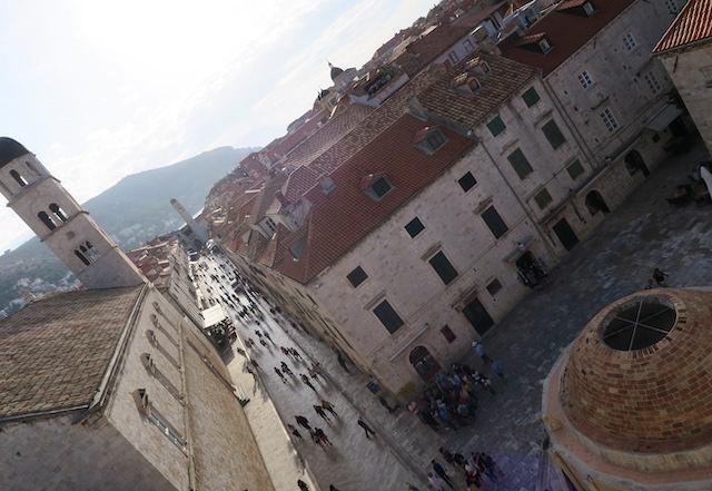 ドブロブニク旧市街の観光